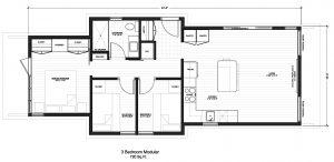 3 Bedroom Modular