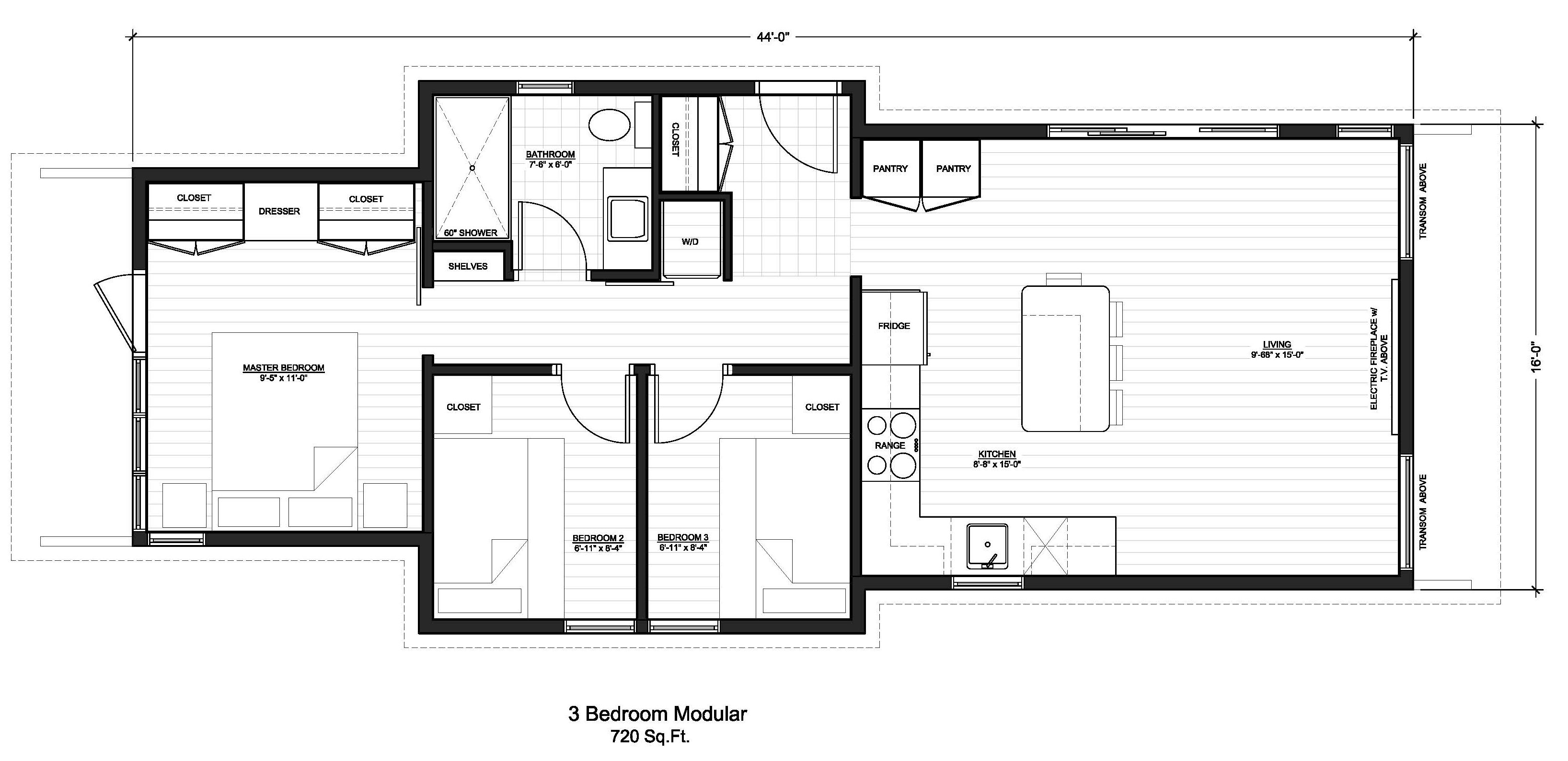 Pocket house modular homes floor plans pocket house 3 bedroom modular home floor plans